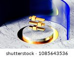 golden sliders symbol on the...