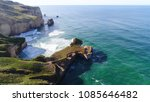 aerial view of tunnel beach in... | Shutterstock . vector #1085646482