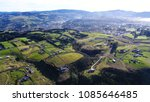 aerial view of small town in... | Shutterstock . vector #1085646485