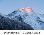morning sunrise touches... | Shutterstock . vector #1085646515