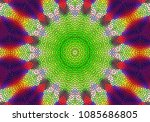 creative decorative background. ... | Shutterstock . vector #1085686805