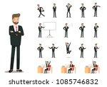 illustration of businessman...   Shutterstock .eps vector #1085746832