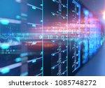 3d illustration of server... | Shutterstock . vector #1085748272