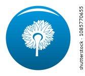 turning sunflower icon. simple...   Shutterstock .eps vector #1085770655