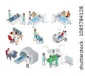 isometric illustration of... | Shutterstock .eps vector #1085784128