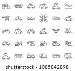 thin line icon set   home...   Shutterstock .eps vector #1085842898