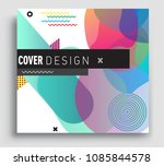 abstract geometric pattern... | Shutterstock .eps vector #1085844578