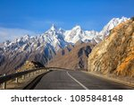 view on the new silk road... | Shutterstock . vector #1085848148