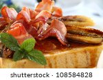 French Toast With Bacon And...