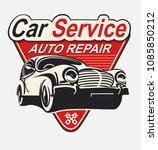 vector label auto repair...   Shutterstock .eps vector #1085850212