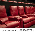 a few rows of recliner movie... | Shutterstock . vector #1085862572