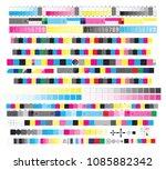cmyk standard offset vector...   Shutterstock .eps vector #1085882342