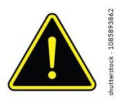 vector road sign | Shutterstock .eps vector #1085893862