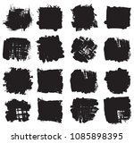 hand drawn scribble symbols... | Shutterstock .eps vector #1085898395