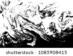 black and white liquid texture. ... | Shutterstock .eps vector #1085908415