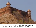 sight of jaigarh fort from amer ... | Shutterstock . vector #1085934398