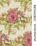floral vintage seamless pattern | Shutterstock .eps vector #108594188