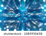 abstract background blue bokeh... | Shutterstock . vector #1085950658