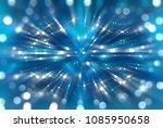 abstract background blue bokeh... | Shutterstock . vector #1085950658