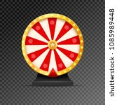 wheel of fortune lottery luck... | Shutterstock .eps vector #1085989448