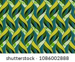 textile fashion african print... | Shutterstock .eps vector #1086002888