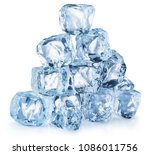 Ice Cube Pyramid. File Contain...
