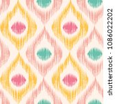 vintage vector seamless pattern ... | Shutterstock .eps vector #1086022202