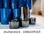 thermal transfer ribbon in... | Shutterstock . vector #1086109265