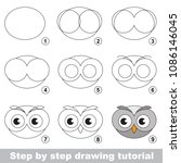 kid game to develop drawing... | Shutterstock .eps vector #1086146045