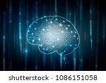 2d illustration concept of... | Shutterstock . vector #1086151058