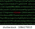 computer virus. malware. vector ... | Shutterstock .eps vector #1086170015