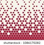 hexagon halftone geometric... | Shutterstock .eps vector #1086170282