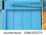 background of old grunge wooden ... | Shutterstock . vector #1086192275