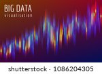 abstract vector finance  big... | Shutterstock .eps vector #1086204305