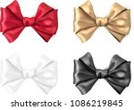 set of colorful realistic... | Shutterstock .eps vector #1086219845