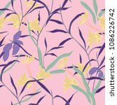 abstract elegance pattern with... | Shutterstock .eps vector #1086226742