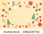 paper craft for seasonal. on... | Shutterstock . vector #1086230732