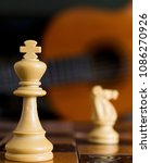chess photographed on a... | Shutterstock . vector #1086270926