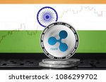 ripple  xrp  cryptocurrency ...   Shutterstock . vector #1086299702