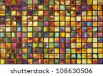 Colorful Mosaic Background On...