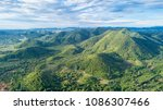 aerial view of mountain around... | Shutterstock . vector #1086307466