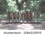 texas cowboy boots | Shutterstock . vector #1086310955