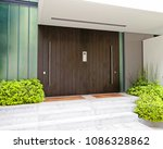 contemporary elegant house... | Shutterstock . vector #1086328862
