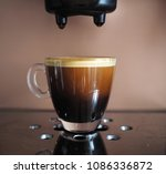 a cup of freshly prepared... | Shutterstock . vector #1086336872