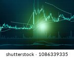 financial data in term of a... | Shutterstock . vector #1086339335