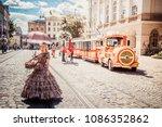 lviv  ukraine   april 20  2018  ... | Shutterstock . vector #1086352862
