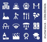 filled other icon set such as... | Shutterstock .eps vector #1086383606