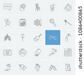 package icons set with sale ...
