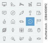 laptop icon with flag  money...