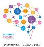 business concept   how... | Shutterstock .eps vector #1086401468